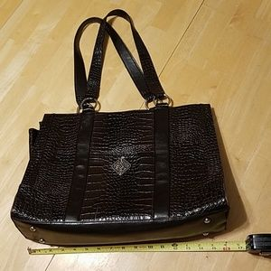 Coldwater Creek large brown handbag